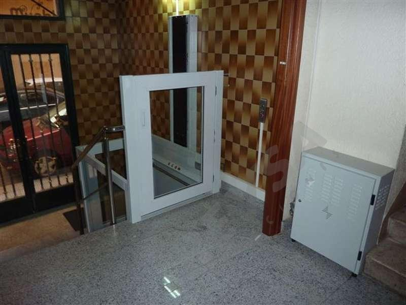 elevadores de corto recorrido